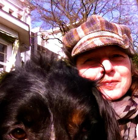 hond en baas, happy