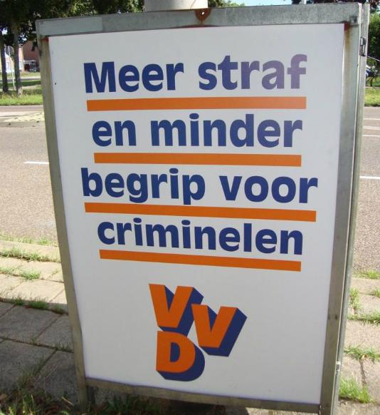 VVD is zelf crimineel