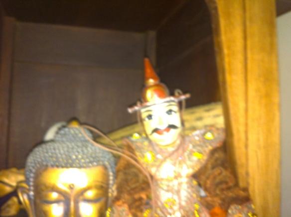 marionet, Thailland, antiek