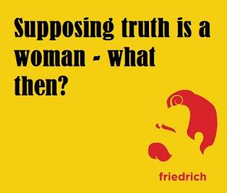 vrouw en waarheid