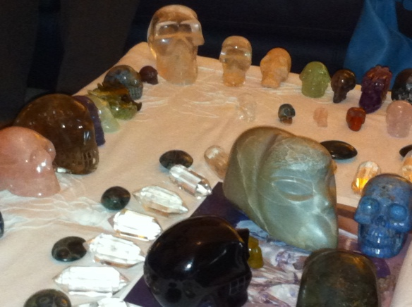 rozenkwarts, opaal, obsidiaan