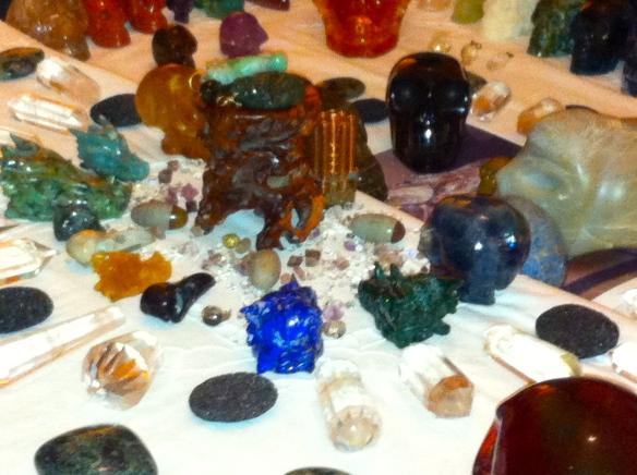 kristallen schedelveld