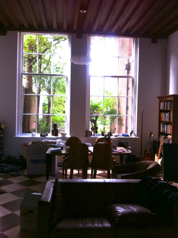 oude woonkamer