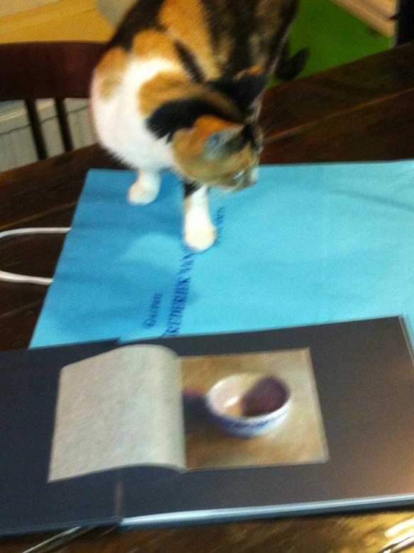 Katten zijn ook kunstzinnig....