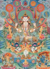 Avalokiteshvara . De Boeddhistische bodhisattva van 'Great Compassion'.
