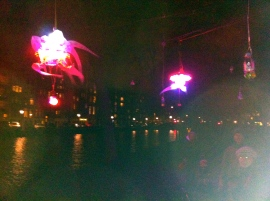 Water Colors, Shih Chieh Huang, Canonicalization of the Seductive Mind, Amsterdam Light Festival