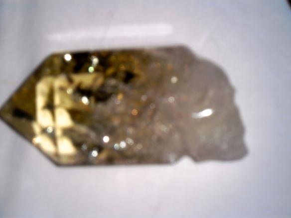 Kristallen schedelmeditatie, veld van transformatie, mannelijke en vrouwelijk in evenwicht brengen, citroen met schedel