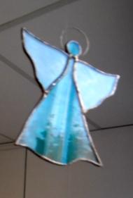 Margreet Gobert, engel, glaskunst