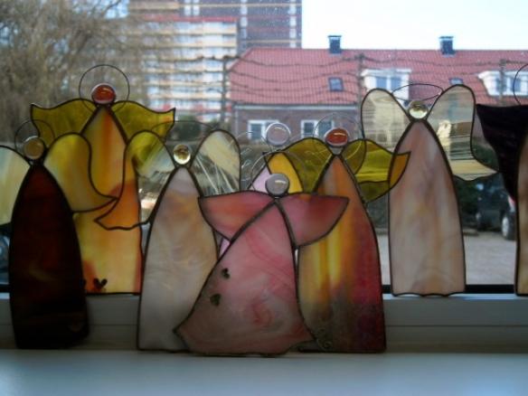 Yvona Mrakotova, engel, glaskunst