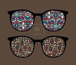 rare, gekke brillen