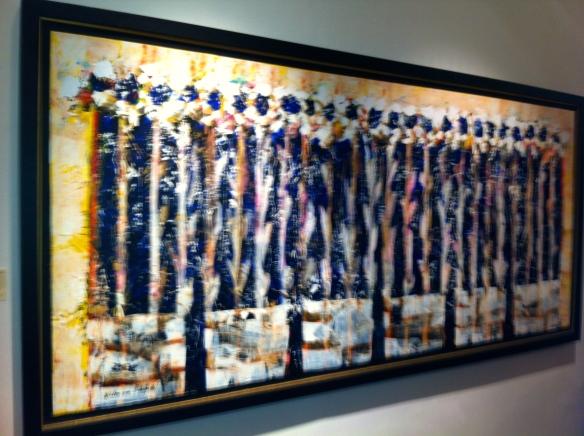 Willem van Scheijndel exposeert bij 'Galerie Frederiek van der Vlist'. ,Galerie Frederiek van der Vlist