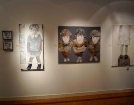 exposeert bij 'Galerie Frederiek van der Vlist'. ,Galerie Frederiek van der Vlist