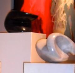 Rian Geurts , Rian Geurts exposeert bij 'Galerie Frederiek van der Vlist'. ,Galerie Frederiek van der Vlist,Prachtige marmeren beelden!