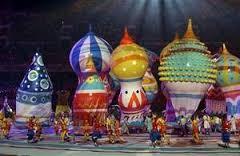 openingceremonie van de Olympische Spelen