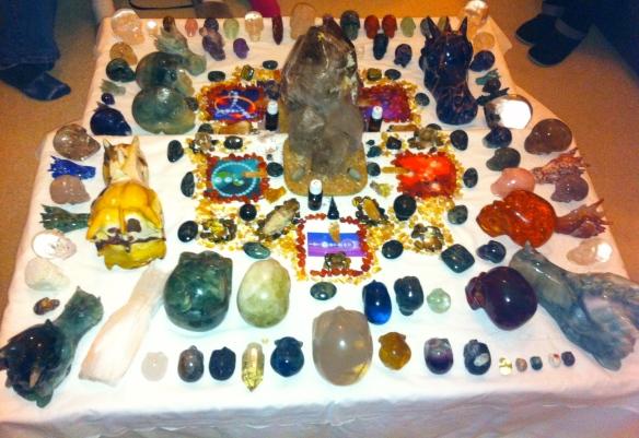 kristallen schedel meditatie, februari 2014, veld loslaten van angst, kristallen draken, kristallen elfen, ET's, stenen en kristal, meditatie met stenen en kristal