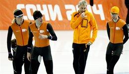 PLOEGEN ACTERVOLGING, GOUD, OLYMPISCHE SPELEN 2014, JORIT BERGSMA IS BOOS, onsportief gedrag van Joris Bergsma, dupeert zijn team