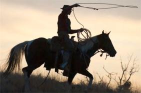 COWBOYS, WILDE WESTEN,