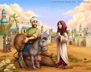 Ali Baba, en de veertig rovers, ali baba en vrouw