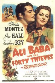 Ali Baba, en de veertig rovers, ali baba en vrouw, Marjina