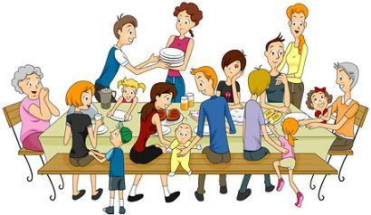 Family Reunion, FAMILIE REUNIE, familie eten, familiediner, samen met je familie aan tafel