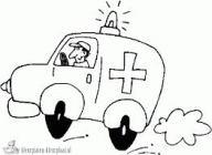 AMBULANCE, ONGEVALLEN, HULPDIENSTEN, plaatjes van een ambulance