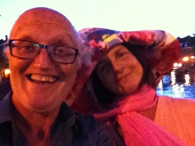 lachende man en vrouw, Rik van Boeckel