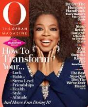 OPRAH WINFREY, O, magazine, tijdschrift, blad, cover van O, tijdschrift van Oprah