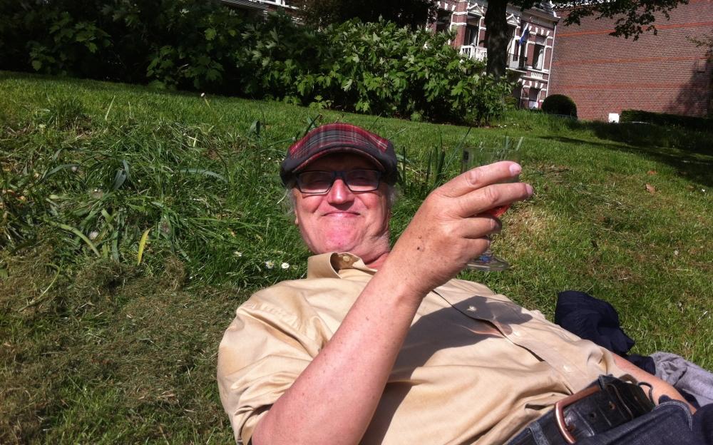 lachende man , Rik van Boeckel