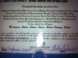 Grow Above the Grass Club, Molly Ackerman, EAE, expansionist Art Empire