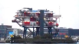 REM eiland, havens van Amsterdam