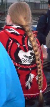 blonde haren, lange vlecht, prachtige lange blonde vlecht, vrouw met vlecht, blonde reuzevlecht, mooie haren, supermooi