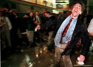 Lullo's, Jiskefet, corpsballen, ballen, dronken studenten, uitspraken van dronken studenten, bezopen kerels, lallende ballen, zuipende studenten
