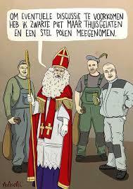 Zwarte Pieten discussie, stripverhaaltjes, grappen over Zwarte Piet en Sinterklaas
