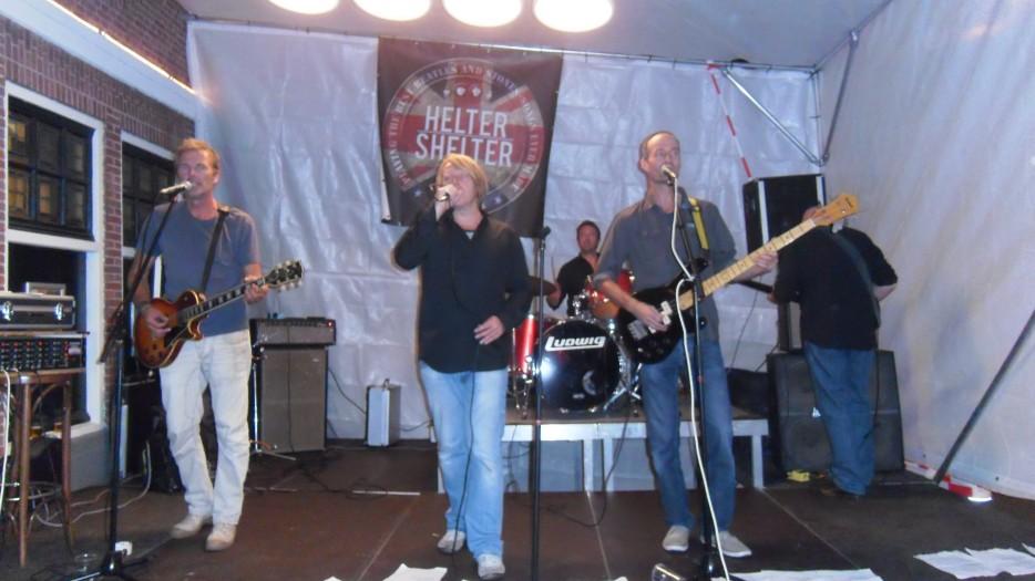 band, 3 oktober, Leids ontzet, Helter Shelter, band