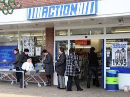 action winkel, goedkope troep