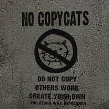 COPYCAT, na apen, copieren, nadoen, imiteren,
