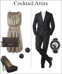 uitgaanstenue vrouw en man, net pak, jurk