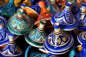 Marokko Marrakech, MAROKKAANSE WINKEL, KRUIDEN, VERSE KRUIDEN, , TAJINES
