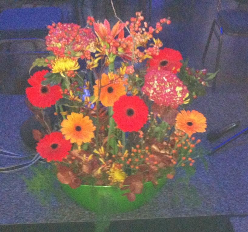 Pieterskerk Leiden, concert, Ex Animo, bloemen, kroonluchters, oud orgel. kathedrale kerk