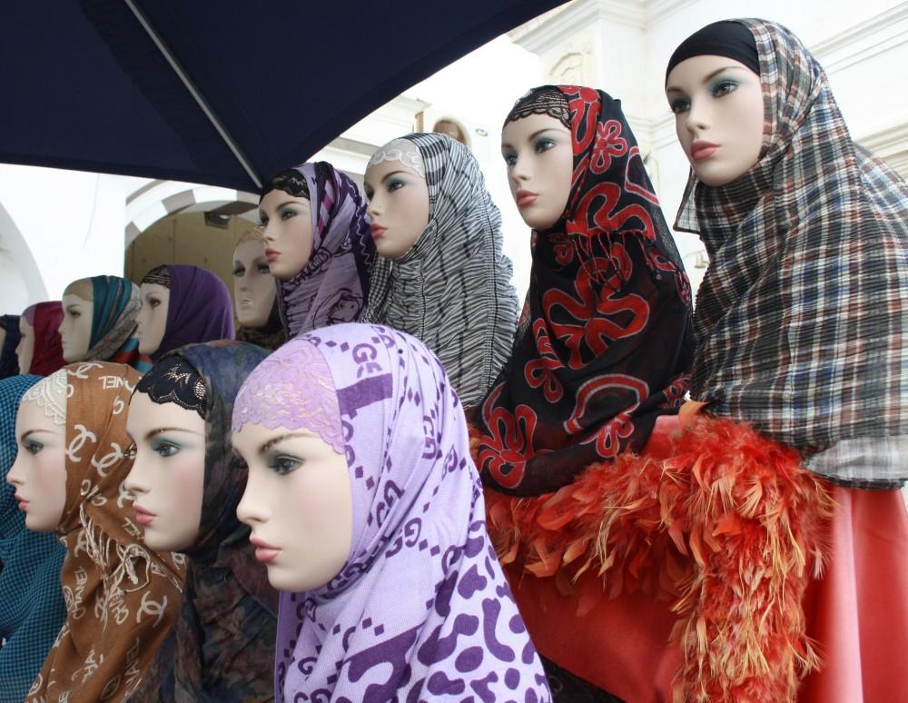 kokette-moslima, sexy moslima's, sexy met hoofddoek,