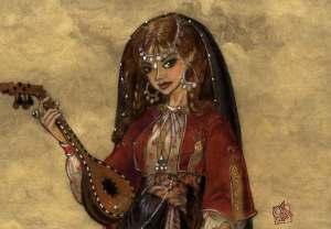 Shahrazad, duizend en 1 nacht, oosterse prinses