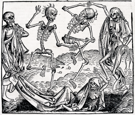 dance of death, DOOD, CREMATIE, comic, death, grap over dood, begrafenis grap,