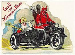 ouderwetse Sint, sinterklaas en Rupert, sint en duivelse knecht Duitse sint, Krampus,