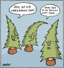 grapje, kerstboom, comic