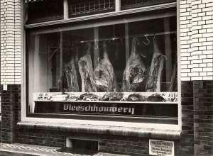 ouderwetse slagerij