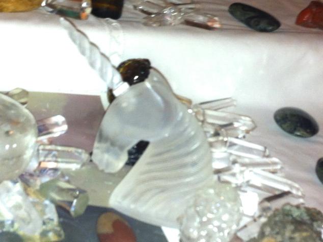 kristallen eenhoorn