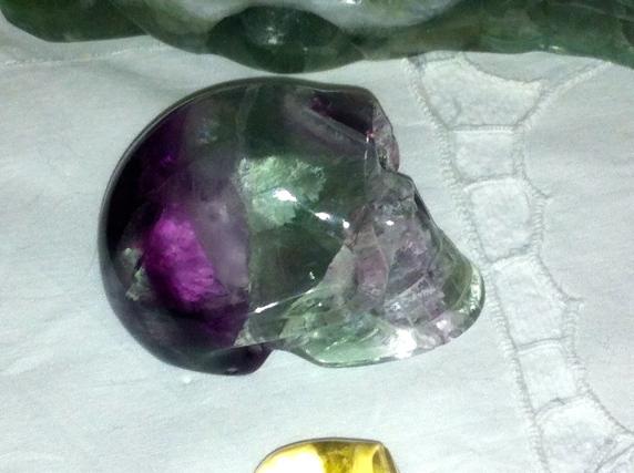 kristallen schedels,fluoriet