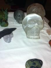 kristallen schedels,seleniet