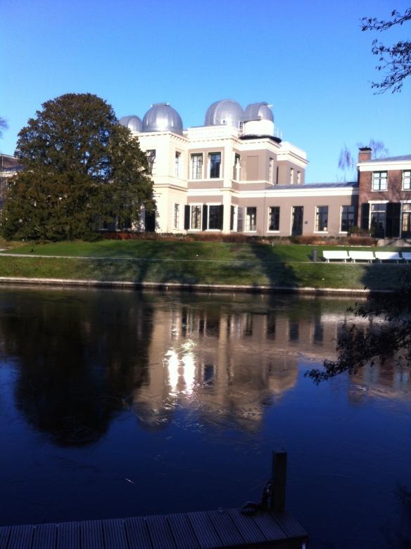 Sterrewacht Leiden, hortus botanicus,