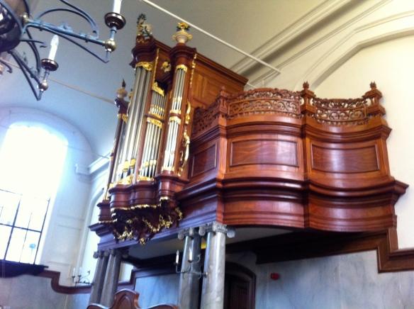 Lokhorstkerk, Leiden, repetite Leidse Koorprojecten, dirigent Wim de Ru